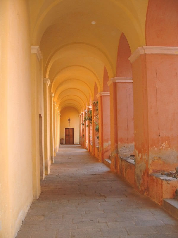 Intérieur du Couvent de Corbara